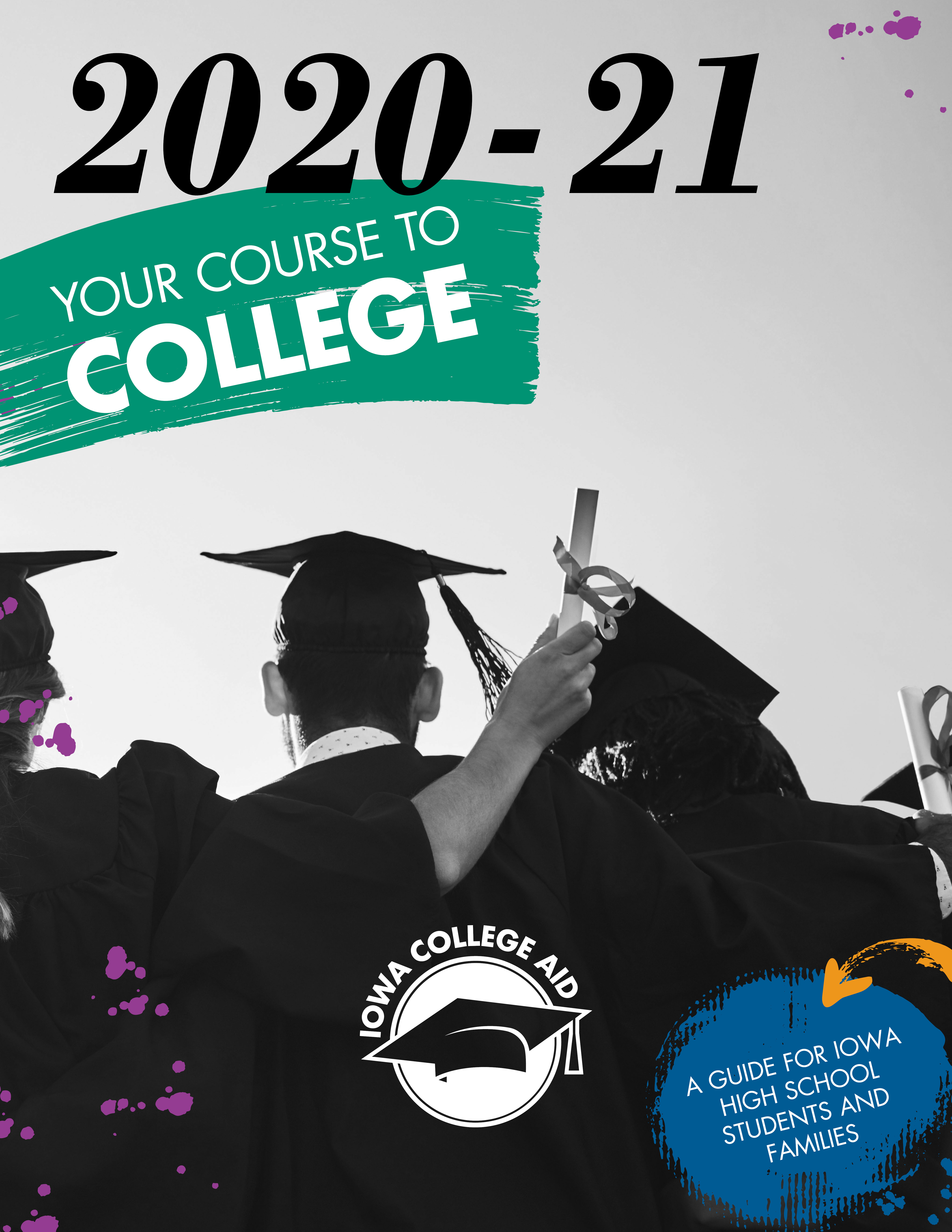 Your Course to College booklet cover