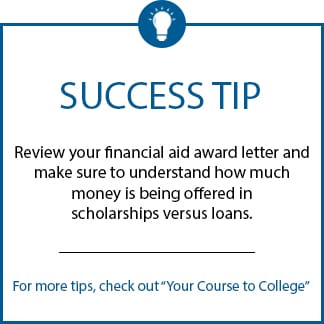 Success Tip Award Letter