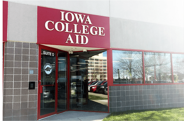 Iowa College Aid building